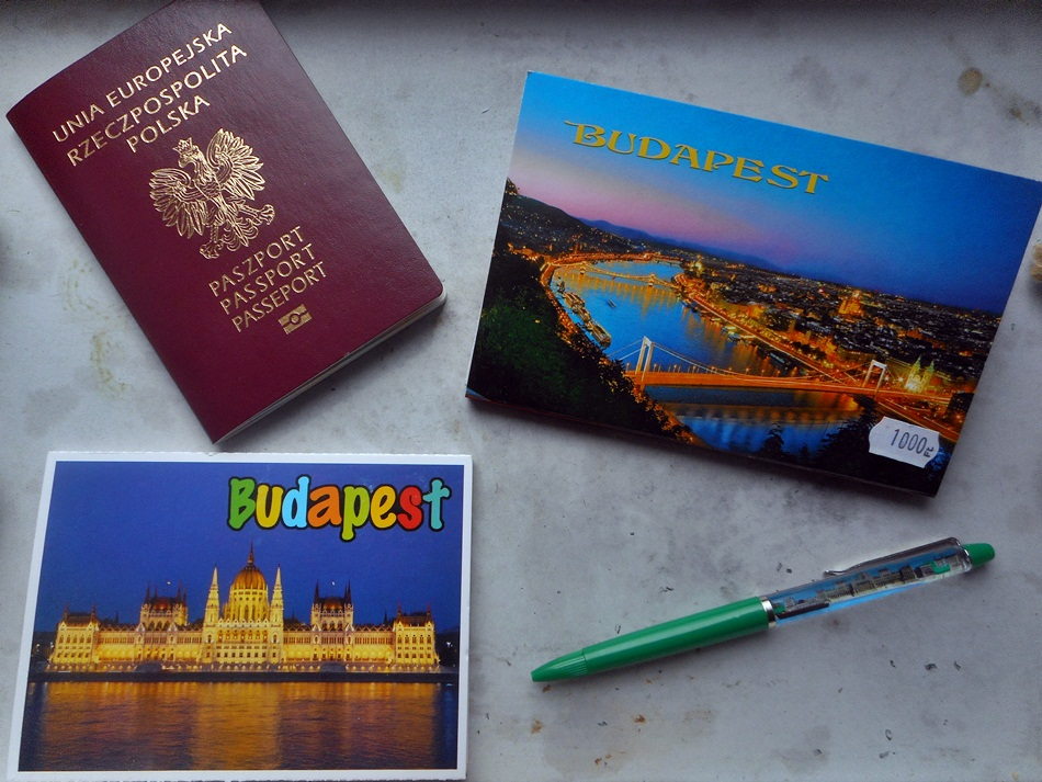 Pamiątki z Budapesztu