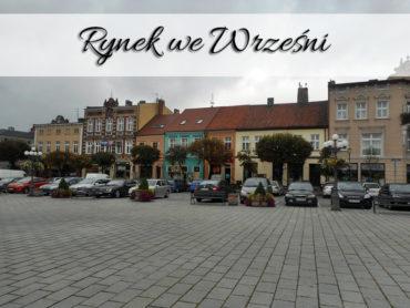 Rynek we Wrześni. Bardzo blisko Muzeum Regionalnego im. Dzieci Wrzesińskich