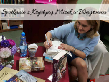 Spotkanie z Krystyną Mirek w Wągrowcu