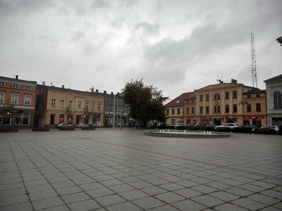 Rynek w Wągrowcu