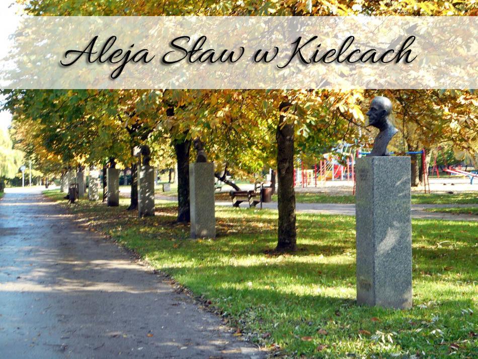 Aleja Sław w Kielcach