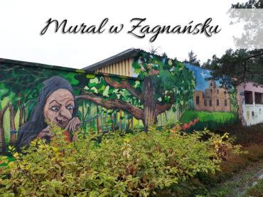 Mural w Zagnańsku. Bardzo mało znana atrakcja wiejska