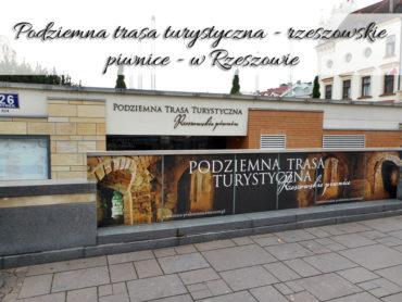 Podziemna trasa turystyczna – Rzeszowskie piwnice w Rzeszowie