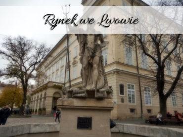 Rynek we Lwowie. Centrum kulturalne Ukrainy