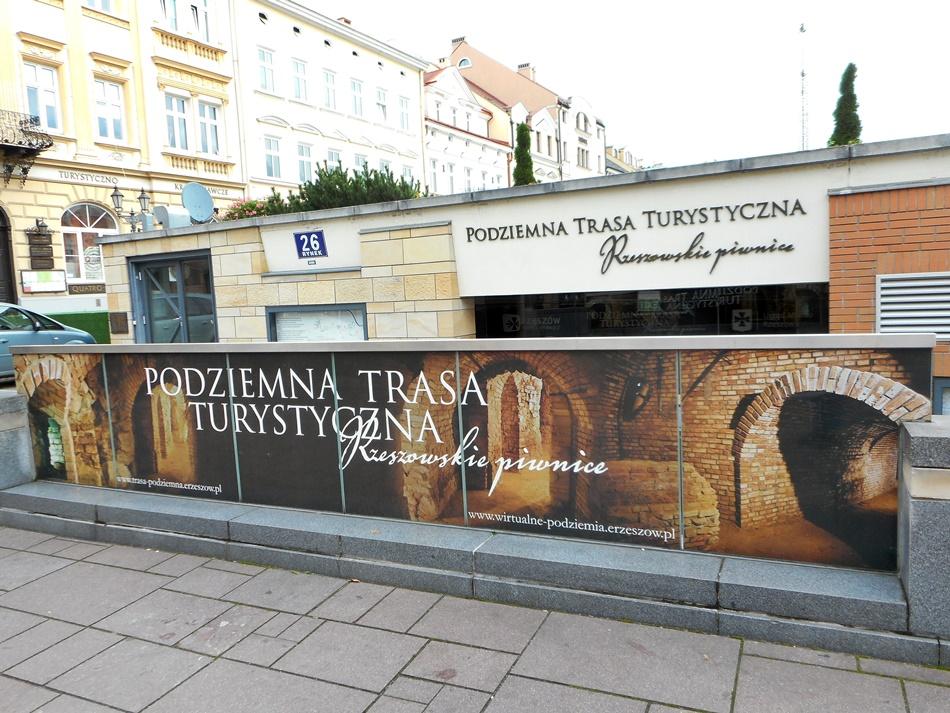Podziemna trasa turystyczna - Rzeszowskie piwnice w Rzeszowie