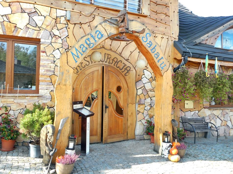 Restauracja Magia Sabatu w Krajnie-Zagórzu