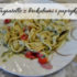Tagiatelle z brokułami i papryką. Doskonałe na szybki obiad