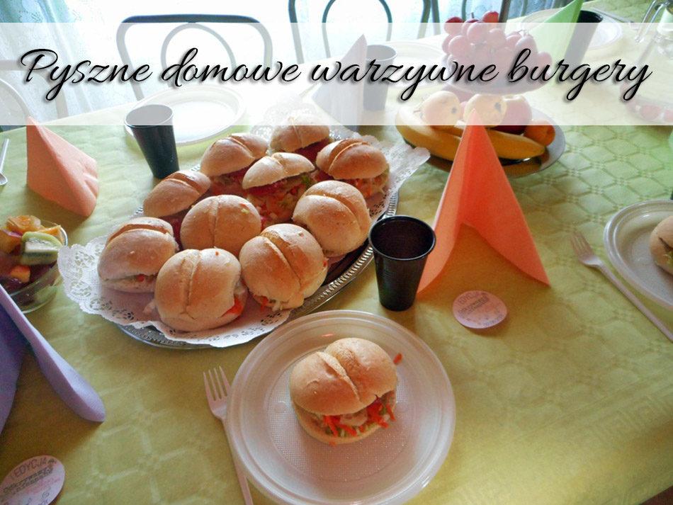 Pyszne domowe warzywne burgery