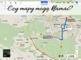 Czy mapy mogą kłamać?