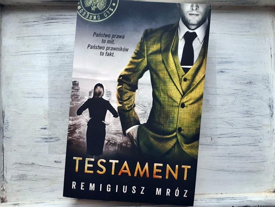 """,,Testament"""" Remigiusz Mróz"""