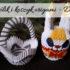 Królik i koszyk origami – DIY. Zrób to sam lub zamów na prezent