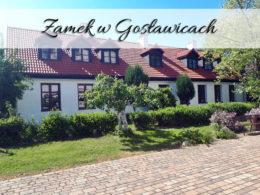 Zamek w Gosławicach. Wyjątkowa posiadłość w jednej z dzielnic Konina