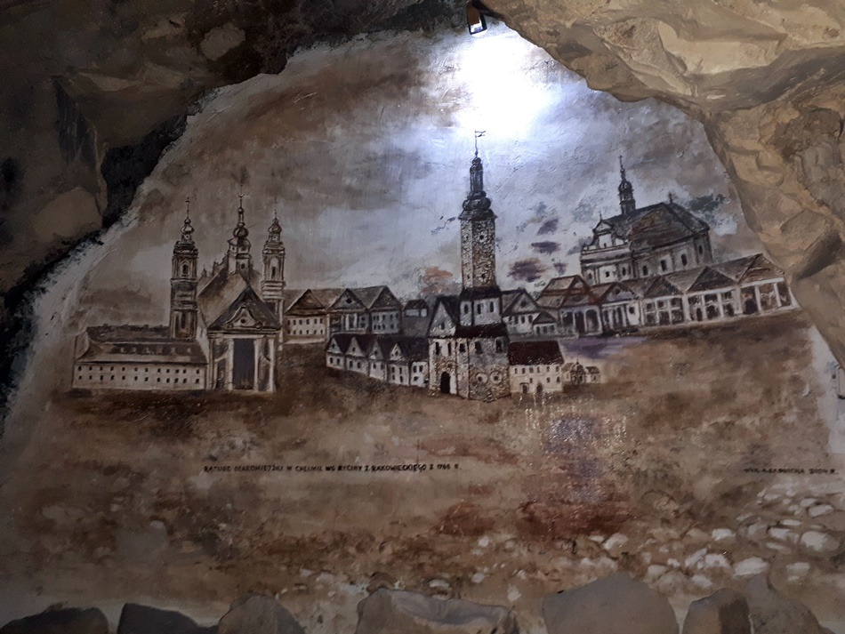Podziemia kredowe w Chełmie
