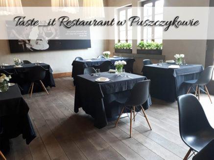 Taste_it Restaurant w Puszczykowie. Smak ukryty w każdym kęsie będzie śnił Ci się po nocach