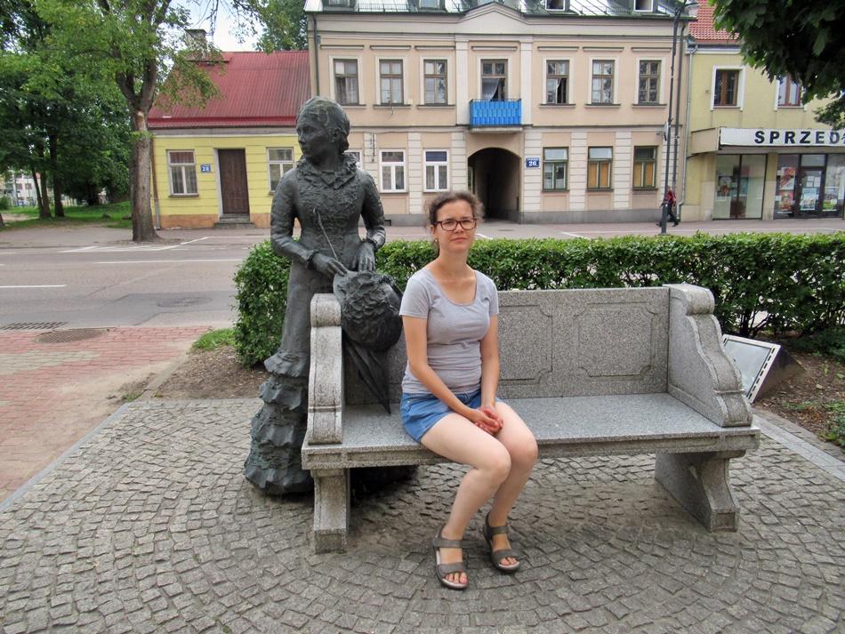 Ślady Marii Konopnickiej w Suwałkach
