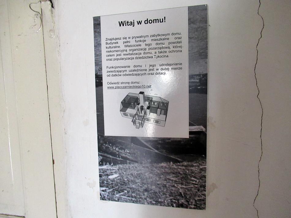 Centrum Badań nad Historią i Kulturą Małych Miast w Tykocinie. Drewniany dom mieszczański przy Placu Czarnieckiego 10