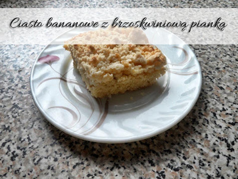 Ciasto-bananowe-z-brzoskwiniowa-pianka