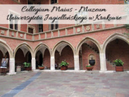 Collegium Maius – Muzeum Uniwersytetu Jagiellońskiego w Krakowie. Widowisko o godz. 15