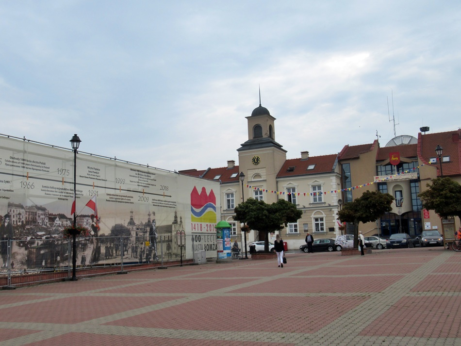 Rynek w Łomży
