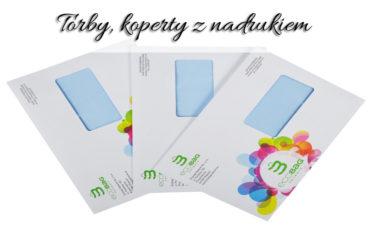 Torby, koperty z nadrukiem. Zaprezentuj swoje logo