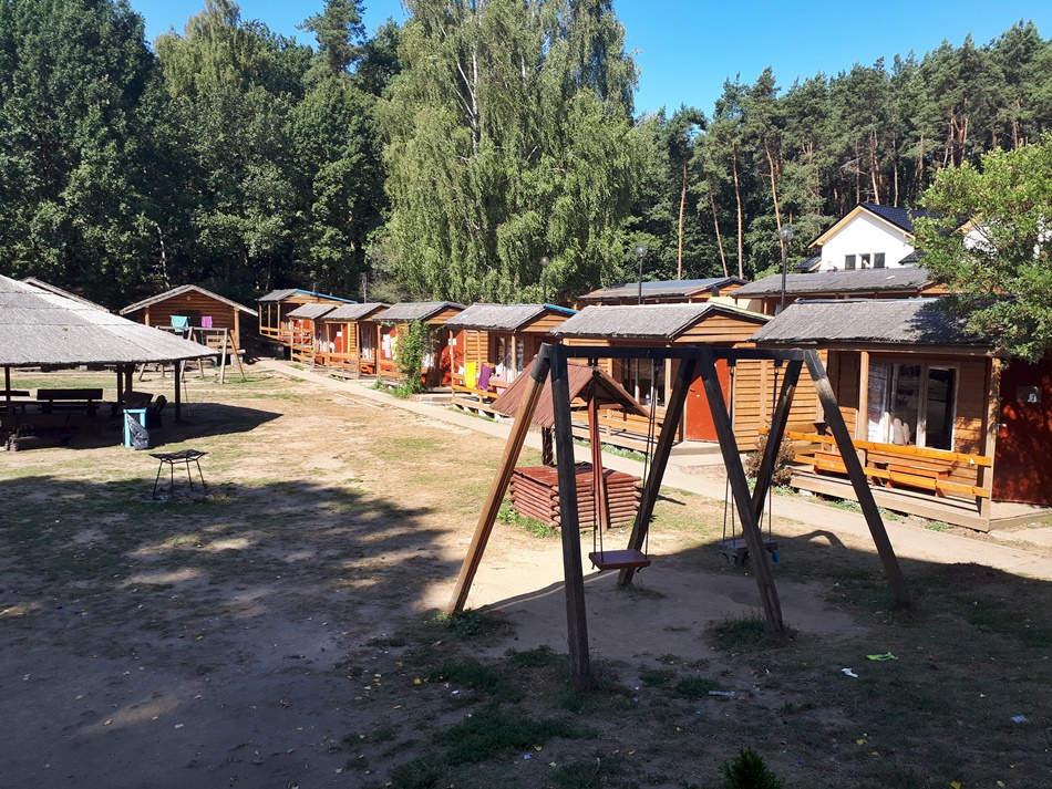 """Ośrodek Wypoczynkowy ,,Panorama"""" w Kątach Rybackich"""