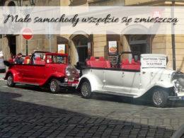 Małe samochody wszędzie się zmieszczą. Przewaga takich aut nad dużymi