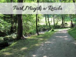 Park Miejski w Reszlu. Wspaniały wąwóz w cieniu drzew