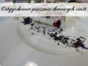 Cotygodniowe pieczenie domowych ciast. Czy to ma sens?