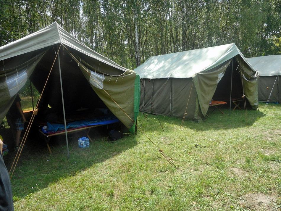 Czy spanie na polu namiotowym to dobry pomysł?