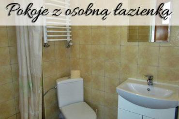 Pokoje z osobną łazienką. O wiele większy komfort niż ze wspólną