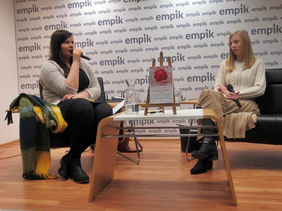 Spotkanie autorskie z Natalią Sońską w Poznaniu