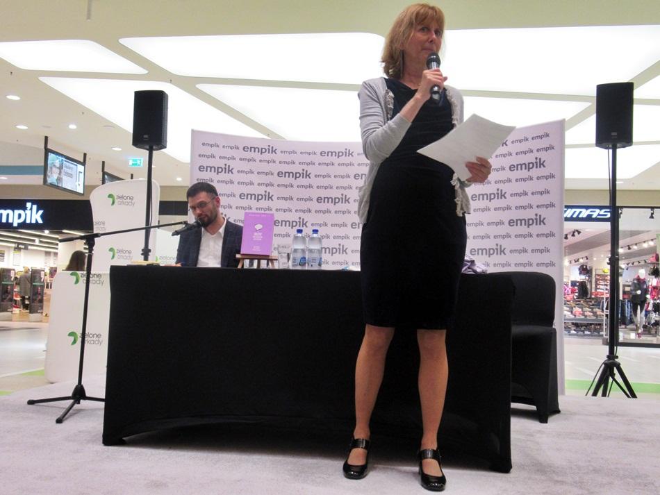 Spotkanie autorskie z Reginą Brett w Bydgoszczy
