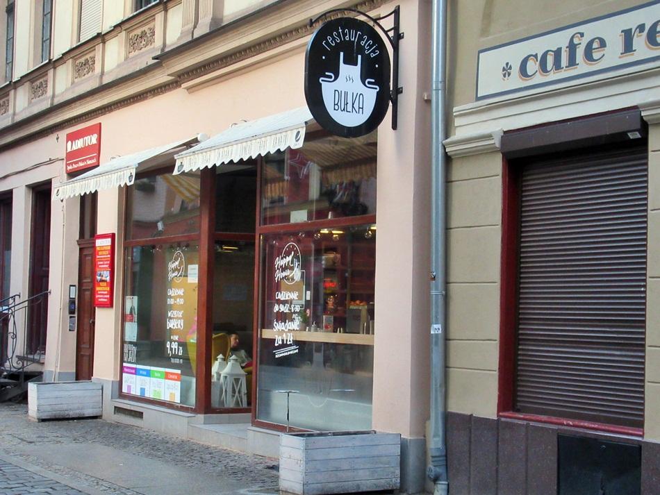 Restauracja Bułka w Toruniu