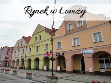 Rynek w Łomży. Zrób sobie zdjęcie z Hanką Bielicką