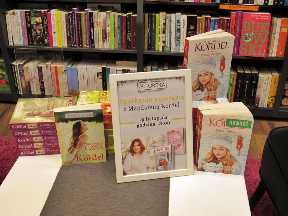 Spotkanie autorskie z Magdaleną Kordel w Poznaniu