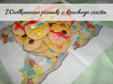 Wielkanocne pisanki z kruchego ciasta. Pyszny deser świąteczny