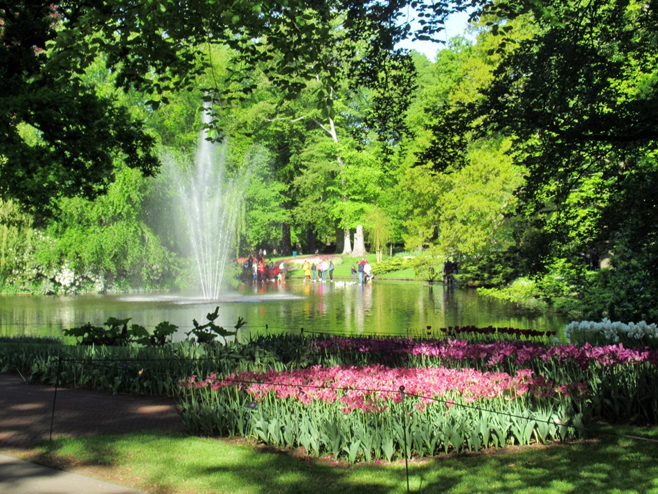 Ogród Keukenhof w Holandii