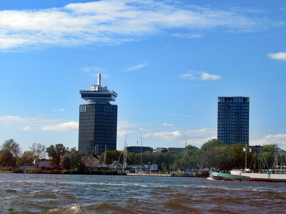 Rejs po kanałach Amsterdamu