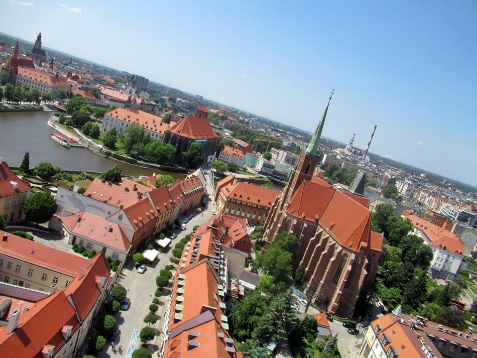 Wieże widokowe we Wrocławiu