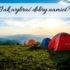 Jak wybrać dobry namiot? Wakacje coraz bliżej, czas podjąć decyzję
