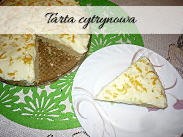Tarta cytrynowa. Smaczna i tania w przygotowaniu