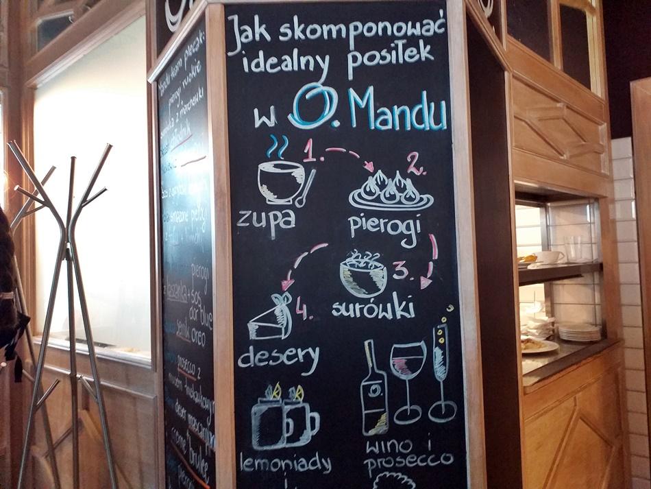 Pierogarnia Mandu Centrum w Gdańsku