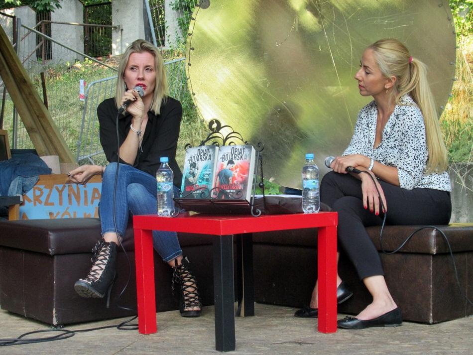 Spotkanie z Joanną Opiat-Bojarską w Gnieźnie