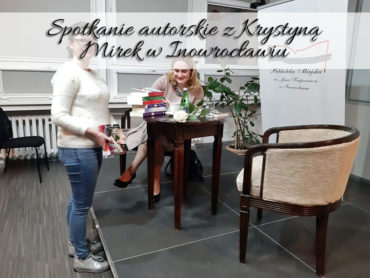 Spotkanie autorskie z Krystyną Mirek w Inowrocławiu. Czas pełen ciepła i inspiracji do uważniejszego życia
