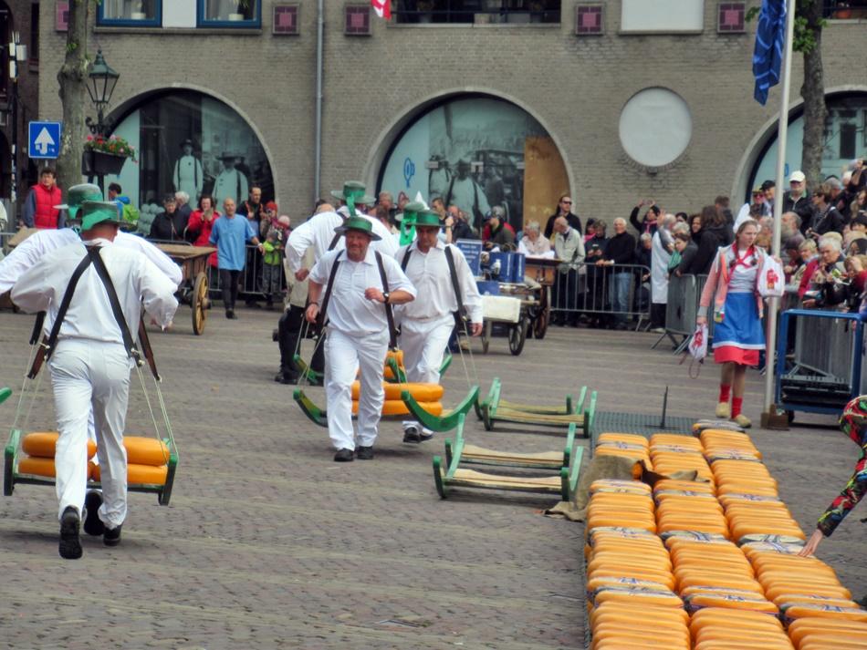 Targ serowy w Alkmaar
