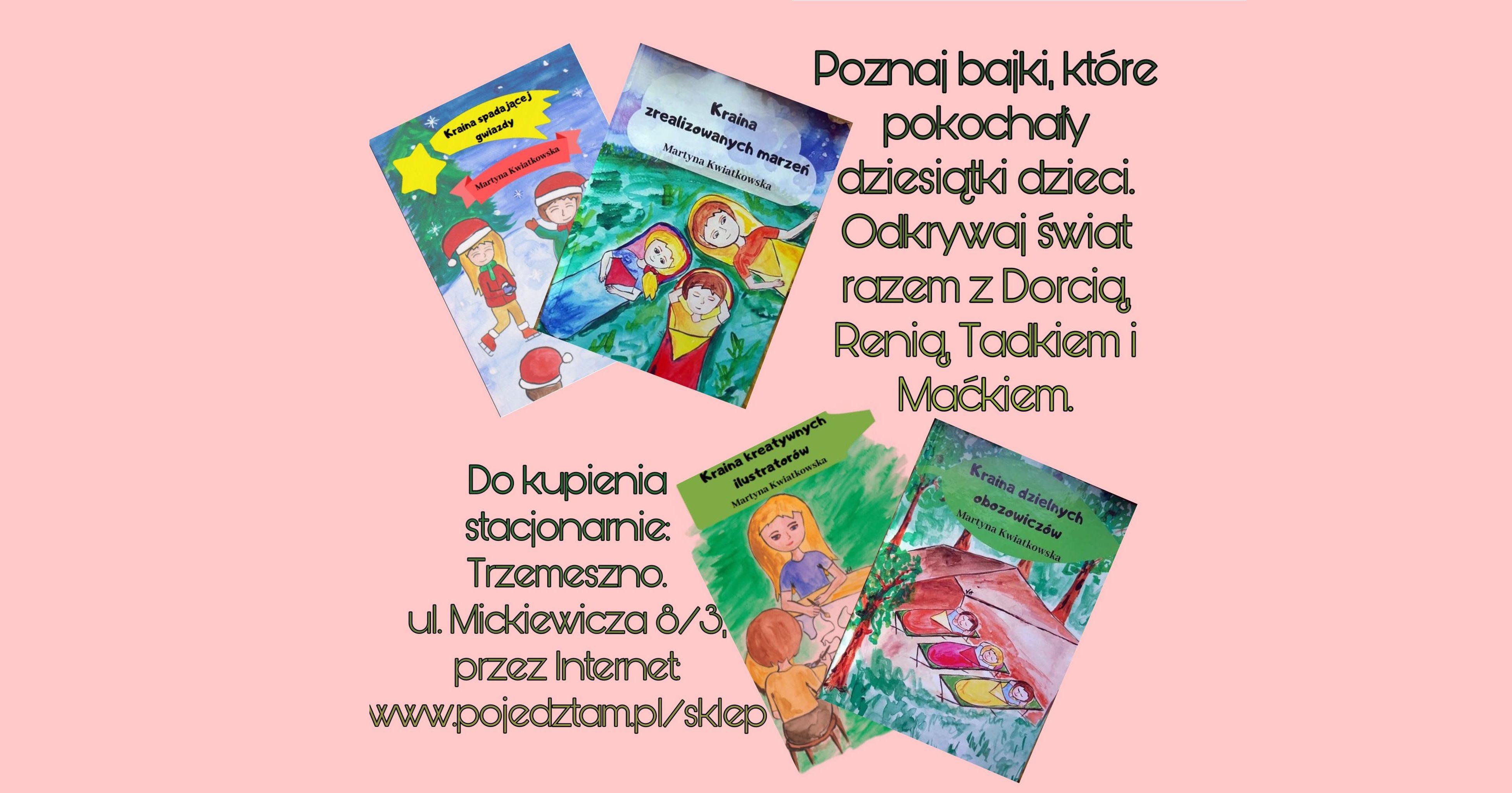 Seria bajek dla dzieci z morałem