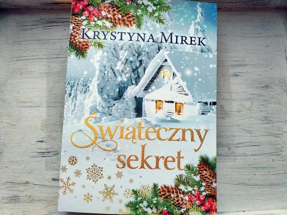 """,,Świąteczny sekret"""" Krystyna Mirek"""