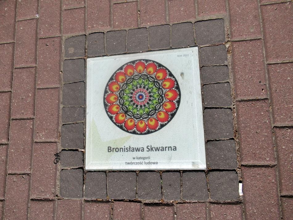 Aleja Gwiazd w Łowiczu