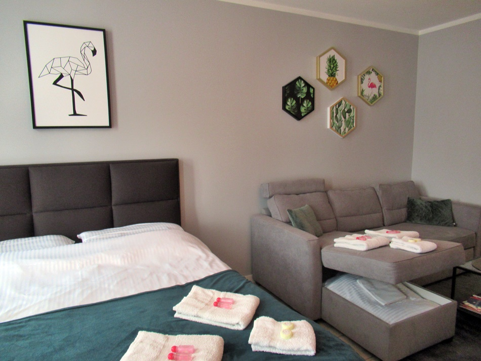 Apartament DeLuxe Flaming w Opolu