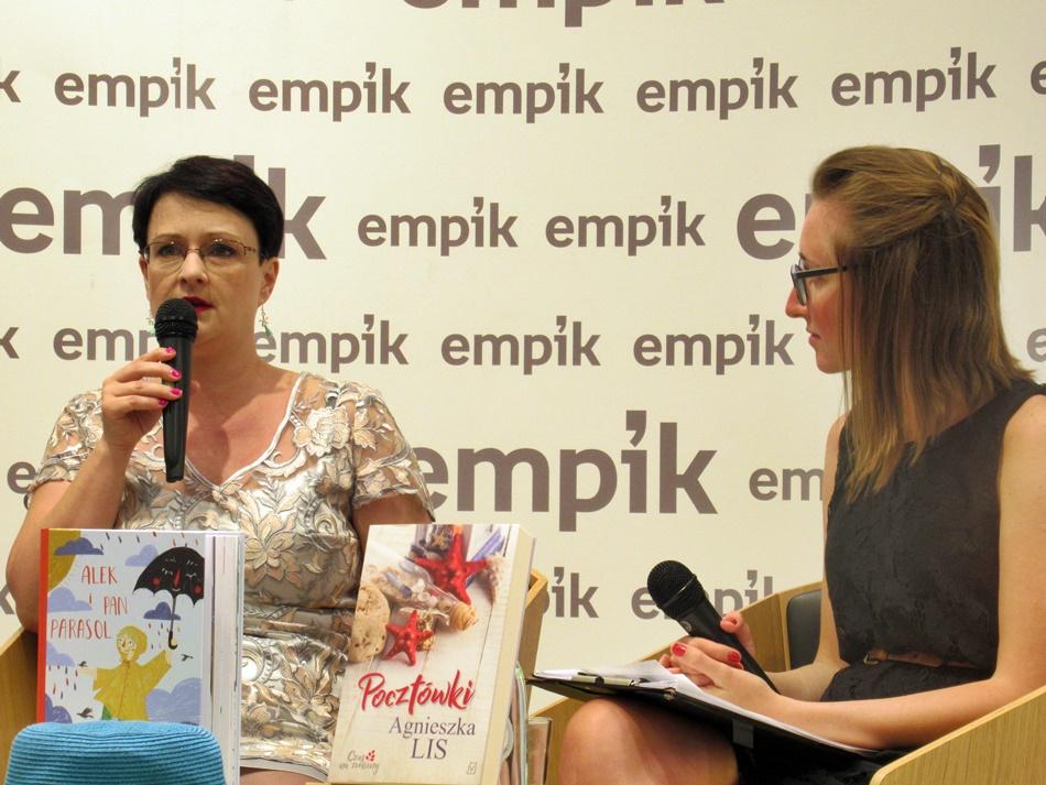 Spotkanie z Agnieszką Lis w Łodzi